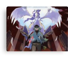 pokemon reshiram and n Canvas Print