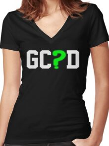 City of Gotham Police Dept. Women's Fitted V-Neck T-Shirt