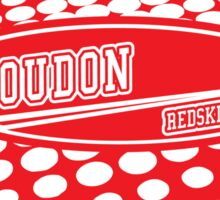 Loudon Redskins! Sticker
