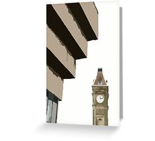 Big Brum, and Old Library Greeting Card