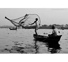 The Fishing Net Photographic Print