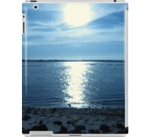 Reflections In  Blue...Between Yachats, And Newport, Oregon iPad Case/Skin