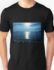 Reflections In  Blue...Between Yachats, And Newport, Oregon Unisex T-Shirt