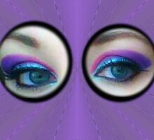 Purple Blue Eyes by DAdeSimone