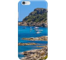 L´Escalet Beach, south of Saint Tropez, Southern France iPhone Case/Skin
