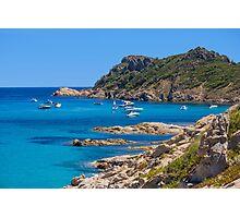L´Escalet Beach, south of Saint Tropez, Southern France Photographic Print