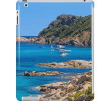 L´Escalet Beach, south of Saint Tropez, Southern France iPad Case/Skin