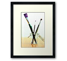 Artistic in Color Framed Print