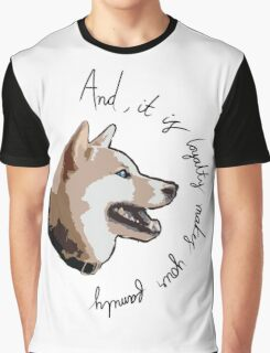 Doggy Thoughts Graphic T-Shirt