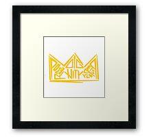 Born Royal  Framed Print