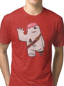 Pirate Beekle, The Unimaginary Friend Tri-blend T-Shirt