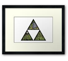 Legend Of Zelda Triforce Framed Print