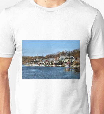 Boathouse Row Unisex T-Shirt