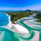 Hill Inlet - Whitsundays Queensland, Australia by Paul Pichugin
