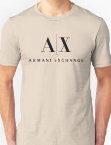 armani exchange- Black Unisex T-Shirt