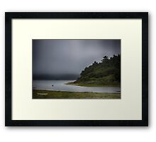 big lagoon - northern california Framed Print