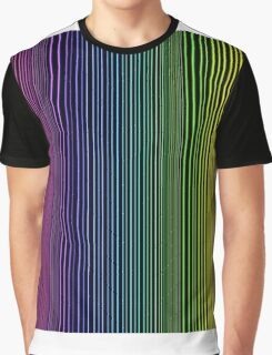 abstract colorful line background Graphic T-Shirt