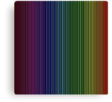 abstract colorful line background Canvas Print