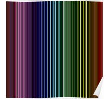 abstract colorful line background Poster