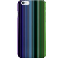 abstract colorful line background iPhone Case/Skin