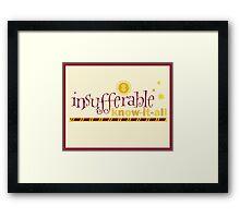 5 Points from Gryffindor Framed Print