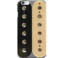 Zebra PAF Humbucker Pickup - Gibson Guitar iPhone Case/Skin