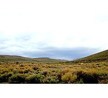 Desolate Field In Bodie Ghost Town Photographic Print