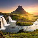 Kirkjufellfoss, Iceland by Paul Pichugin