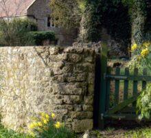 The garden gate Sticker