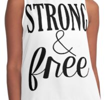 Strong & Free Contrast Tank