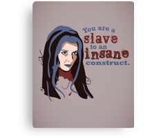 Insane Construct Canvas Print