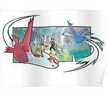 pokemon latios and latias Poster