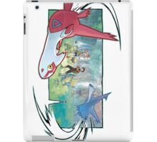pokemon latios and latias iPad Case/Skin