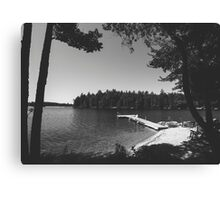 Camp Crystal Lake Canvas Print