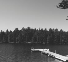 Camp Crystal Lake Sticker