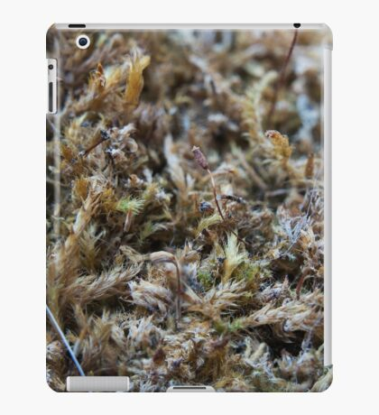Nature-inspired dried moss iPad Case/Skin