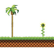 Green Hill Zone by popwear