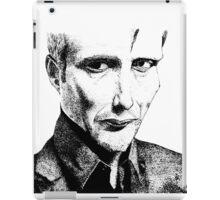 Mads Mikkelsen iPad Case/Skin