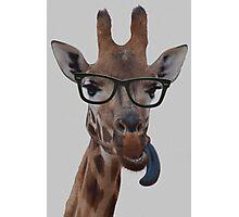 Geek Giraffe Photographic Print