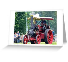 Traction Engine at Shrewbury Steam Rally Greeting Card