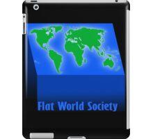 FLAT WORLD SOCIETY iPad Case/Skin