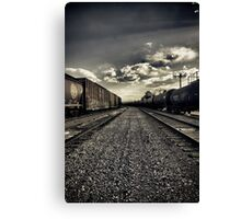 The End of a Long Day Canvas Print