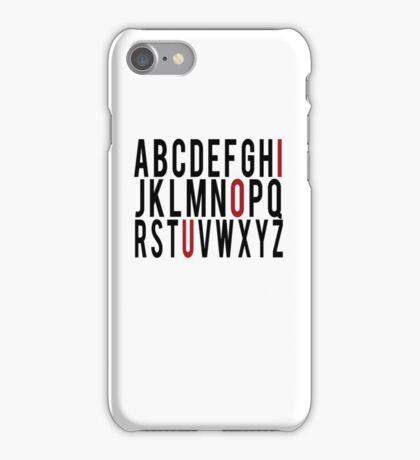 I OWE YOU iPhone Case/Skin