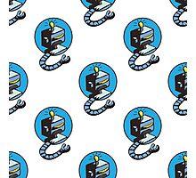 doodle robots Photographic Print