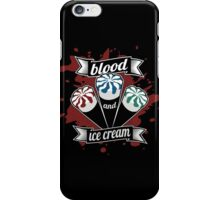 Blood & Ice Cream - Colour iPhone Case/Skin