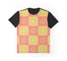 Chequered Sunshine Graphic T-Shirt