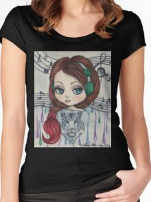 Kristin Women's Fitted Scoop T-Shirt