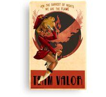 Team Valor Canvas Print