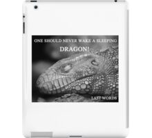 Sleeping Drogon iPad Case/Skin