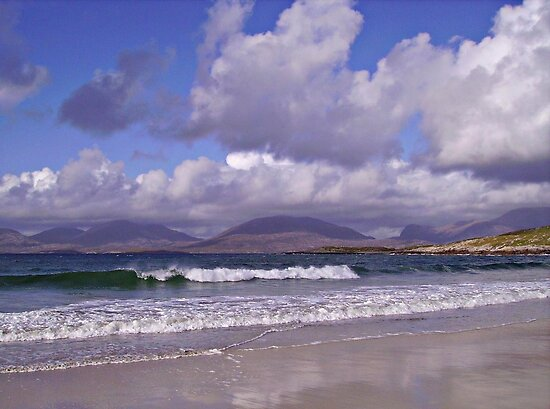 An Afternoon on the Beach in September -  Outer Hebrides by BlueMoonRose